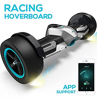 "Gyroor G-F1 Hoverboard,8.5"" Off Road Hover Board with Bluetooth Speaker&LED Lights,Fastest Racing Self Balancing Scooter with App for Kids and Adult,UL2272 Certified"